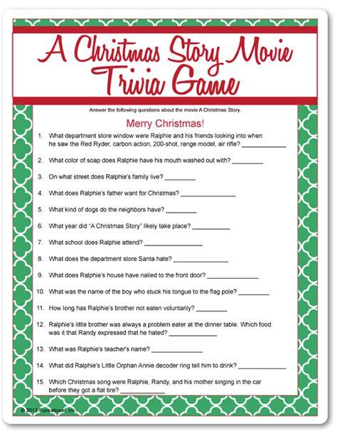christmas film quiz answers printable a christmas story movie trivia funsational com