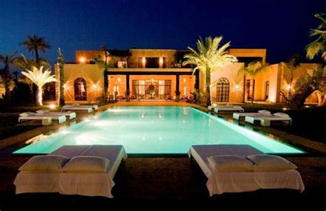 luxury home plans with pools luxury moroccan villa house design contemporary beautiful