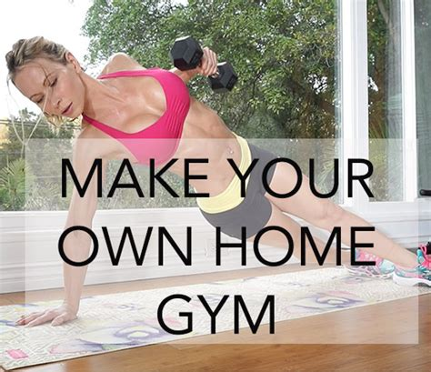 Make Your Own Home Gym Zuzka Light Create Your Own Home Workout