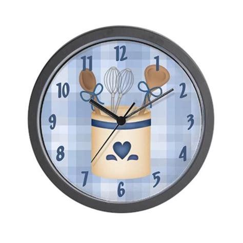 Kitchen Clocks | kitchen utensils wall clock by cowpiecreek
