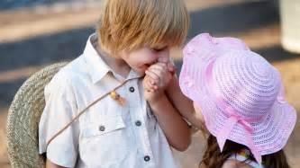 Cute little baby boy and girl in love hd wallpaper cute little