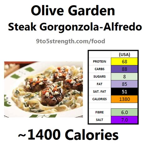 olive garden calories how many calories in olive garden