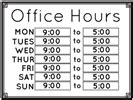 Office Hours Sign Pics For Gt Printable Business Hours Sign