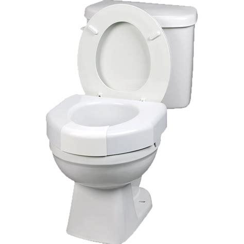 elevated toilet maddak basic open front elevated toilet seat raised