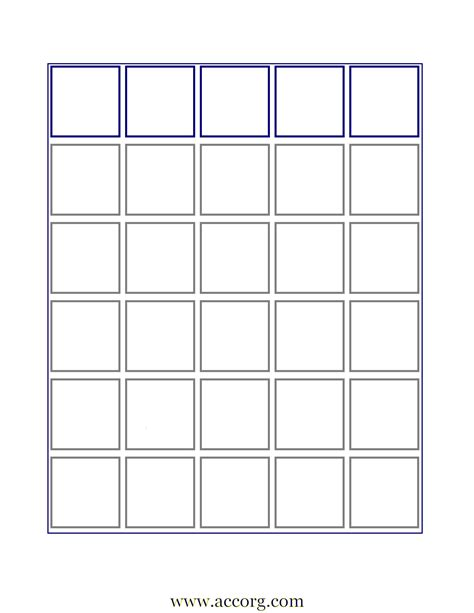 7 Best Images Of Free Printable Bingo Card Template Free Board Template Free