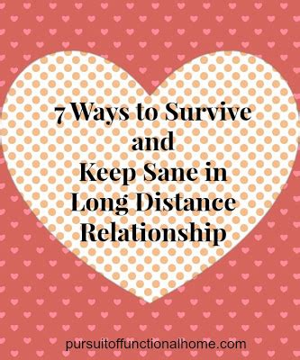 7 Ways To Keep Your Distance Relationship by 7 Ways To Survive And Keep Sane In Distance