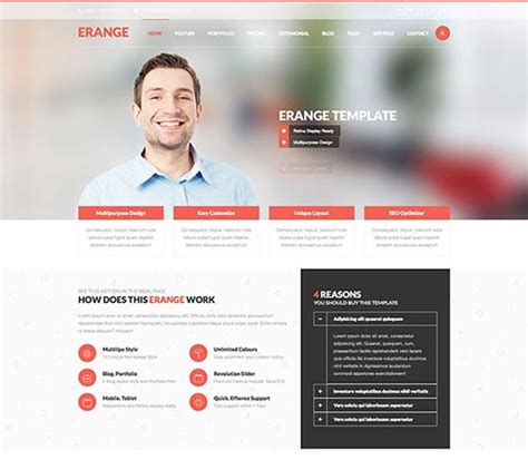 estimation responsive business html template free 40 premium html5 business website templates