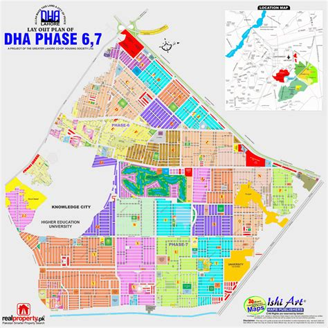 A Dha A Dha Dha Lahore Map Phase 6 7