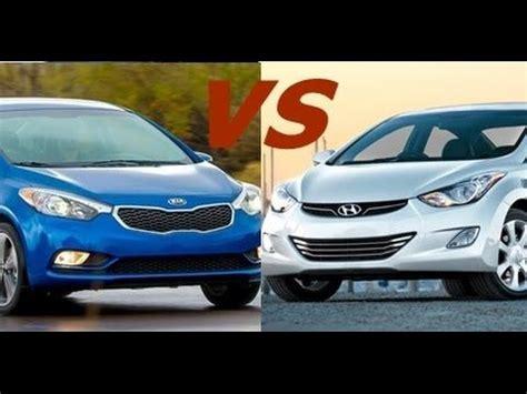 Kia Forte 5 Vs Hyundai Elantra Gt Kia Forte 2016 Vs Hyundai Elantra 2016 Par St Jean Hyundai