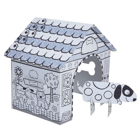 dog house hours alex toys craft color a dog house children s kit alexbrands com