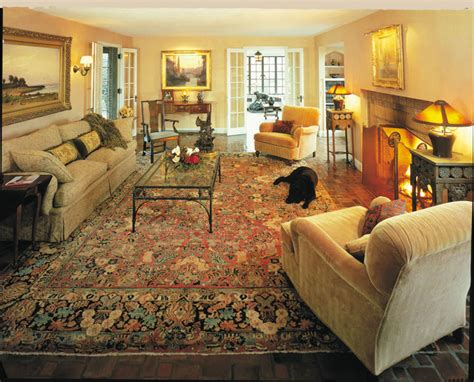living room traditional living room furniture with rug antique sarouk rugs makes a room elegant and cozy
