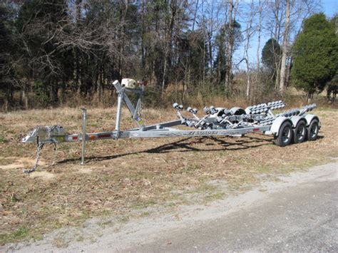 used ez loader boat trailers ez loader triaxle boat trailer the hull truth boating