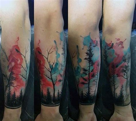 watercolor tattoo guys 25 best ideas about mens wrist tattoos on