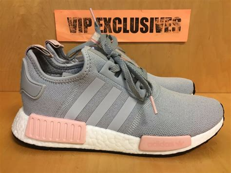adidas nmd   grey vapour pink light onix womens nomad