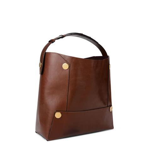 Stella Mccartney Bag cognac stella popper bag stella mccartney