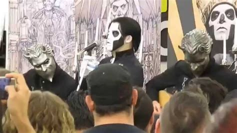 Bc Records 2016 Ghost Live Zia Records Az August 21 2015 Show Unholy