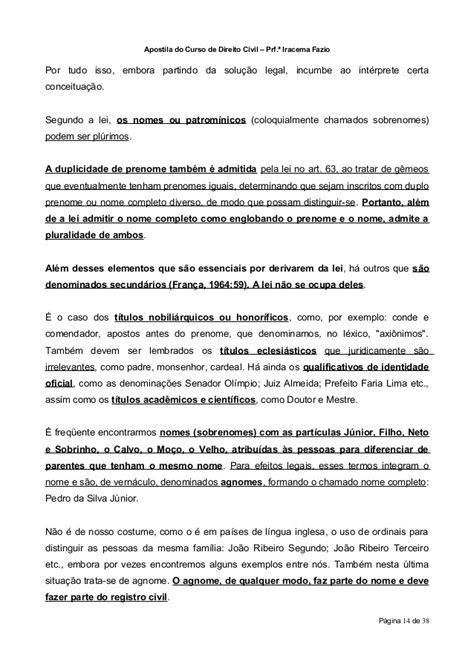 Direito Civil Parte Geral Aula 03