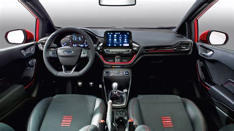 ford fiesta st  red  black edition revealed autodevot