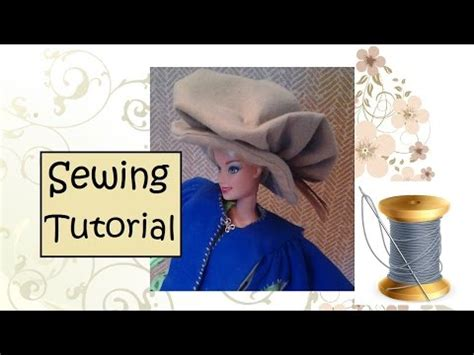 Youtube Tutorial Sewing | musketeer hat sewing tutorial youtube