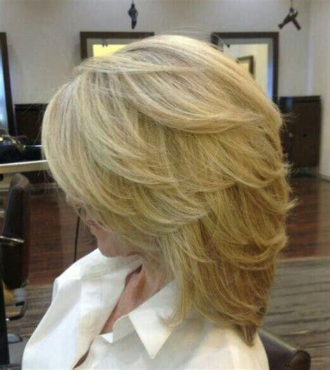 medium haircut feathered backwards 41 best hair images on pinterest reba mcentire