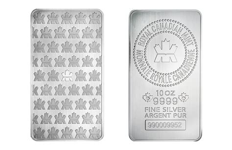 10 Oz Silver Bar Price Canada - buy rcm 10 oz silver bar box buy silver bars kitco