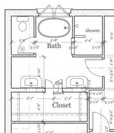how to design a bathroom floor plan master bathroom layout plan with bathtub and walk in shower if i ever have a house pinterest
