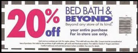 bed bath beyond 20 off entire purchase bed bath and beyond coupon 20 off entire purchase