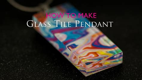 how to make glass jewelry pendants how to make glass tile pendant