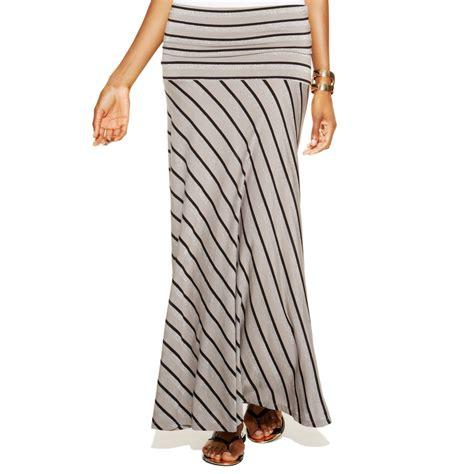 inc international concepts striped convertible maxi skirt