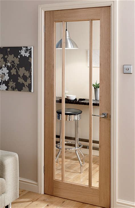 Bathroom Trim Ideas by Langdale Worcester Oak 3 Light Glazed Interior Door