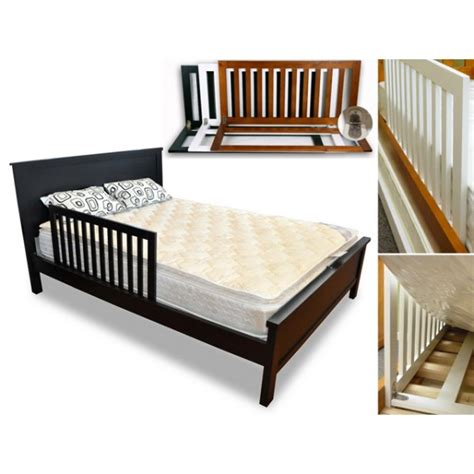 bed safety rails famili wooden safety bed rail