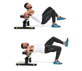 Bench Your Weight Single Leg Hip Thrust Men S Fitness