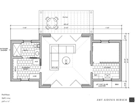 pool house plans free in progress pool house amy hirschamy hirsch