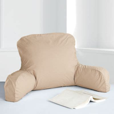 sitting up pillow for beds bed rest pillow with arms quotes