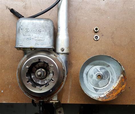 harada power antenna teardown guidance electrical the classic zcar club