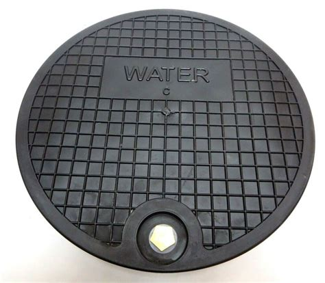 metal water meter box cover 6 nicor type c water meter box cover 12 5 quot polymer lid
