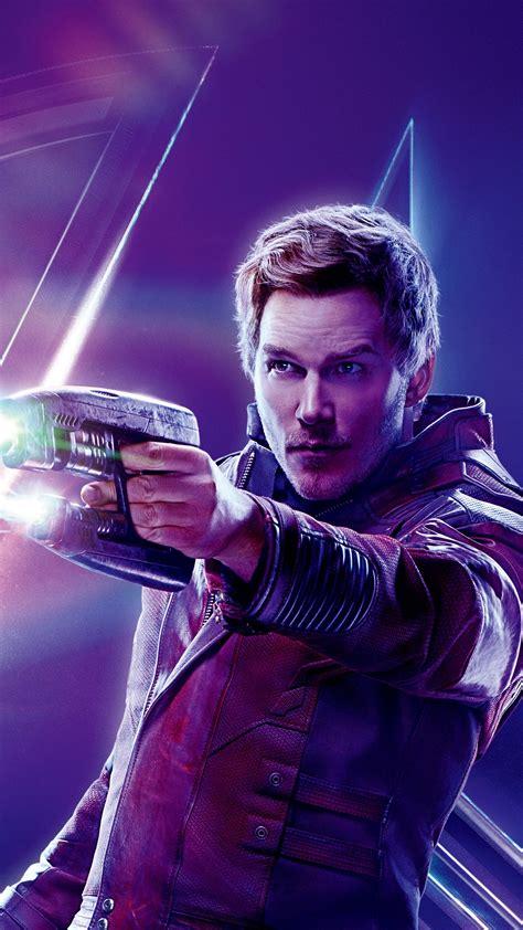 wallpaper avengers infinity war chris pratt peter quill
