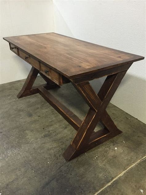 Farmhouse Desk by 25 Best Ideas About Rustic Desk On Reclaimed