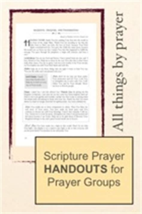 40 scripture based prayers to pray your books scripture praying handout for prayer groups