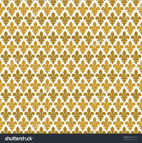 seamless pattern royal royal pattern lily seamless pattern stock vector