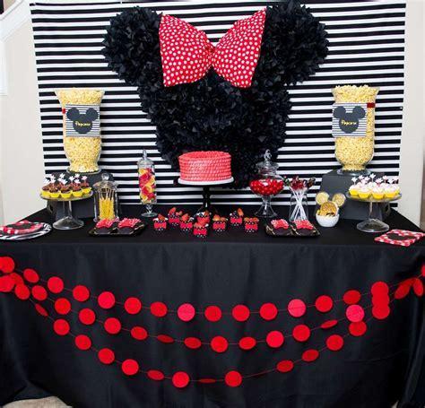 Mickey and Minnie Birthday Party Ideas   Photo 1 of 17