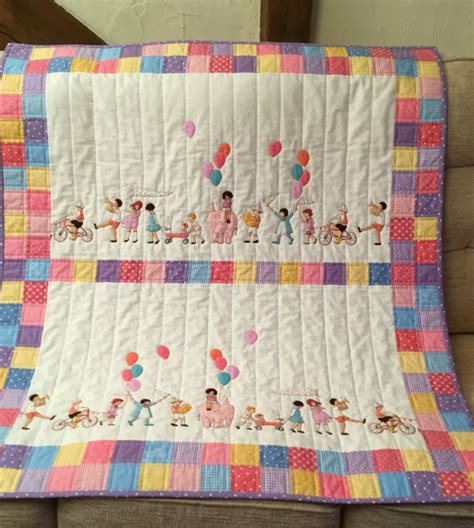 Quilts Uk Children S Quilt With On Parade Fabric