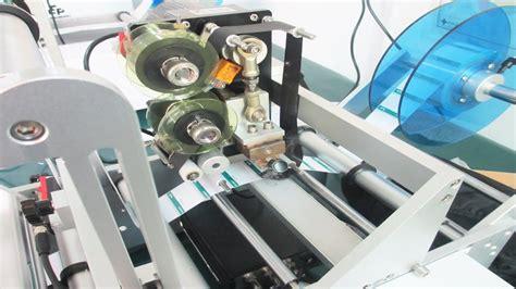 bureau r馮lable syringe labeling machine printing coding system semi