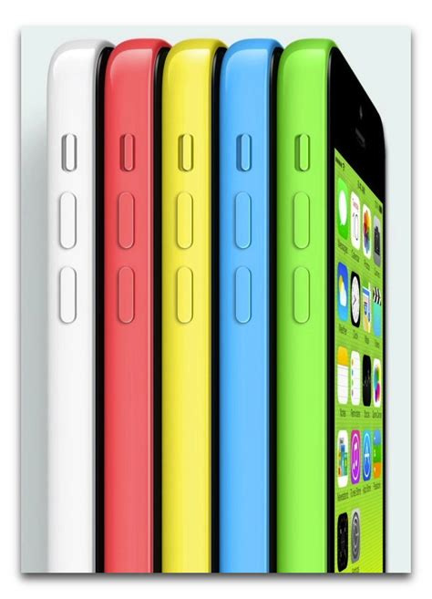 iphone c colors apple announces low cost plastic iphone 5c in five colors