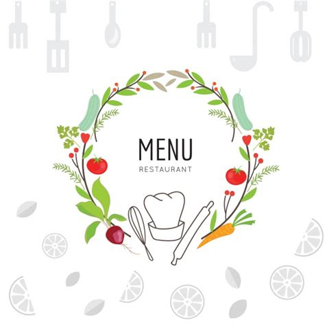 Cooking background design Vector   Free Download