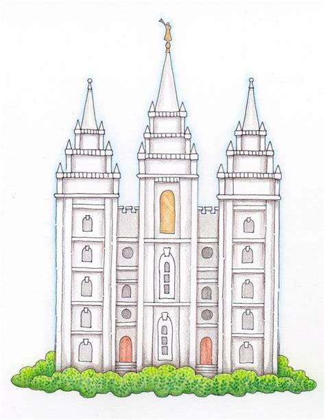 printable lds art temple clipart lds clipart panda free clipart images