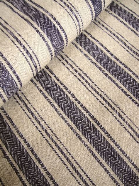 Belgian Linen Fabric For Upholstery French Belgian Linen Ticking Fabric By Greattextiles