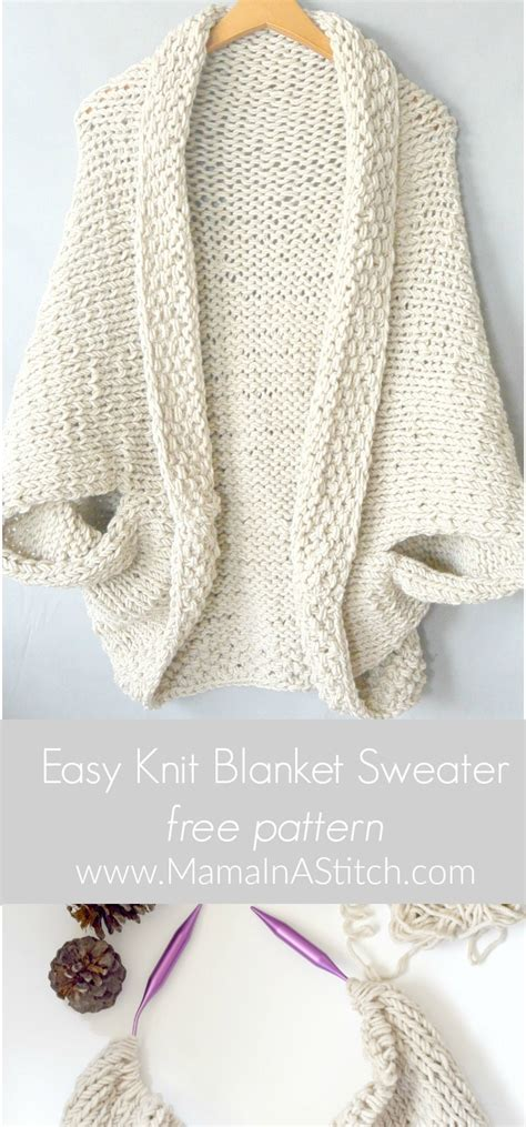 design knitting pattern online easy knit blanket sweater pattern mama in a stitch