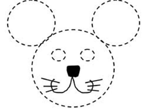 best photos of mouse mask template printable mouse mask