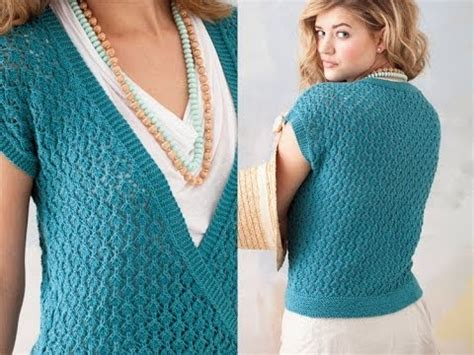 Top Knit 26 26 lace top vogue knitting summer 2011